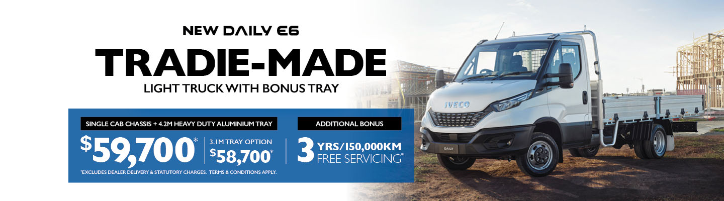 Iveco-New Daily E6-Tradie Made