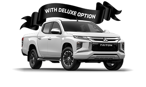 Triton GLS Double Cab / Pick Up / 4WD / Diesel / Automatic (With Deluxe Option) - Feb21 image