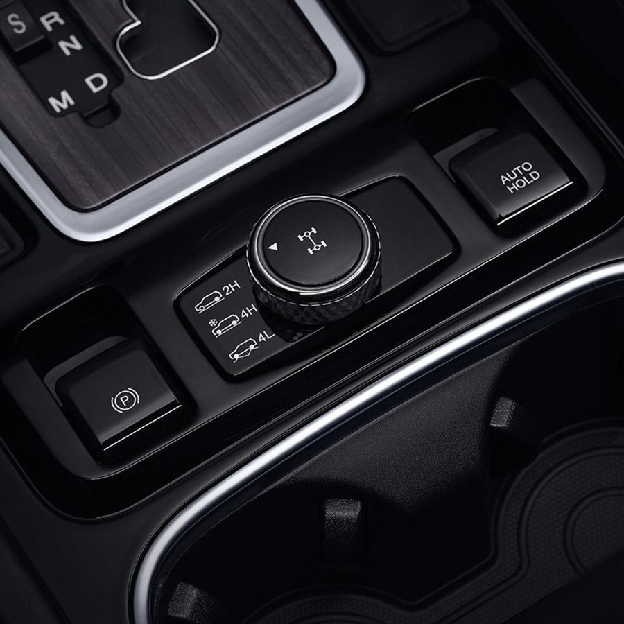 ssangyong-rexton-drive-mode
