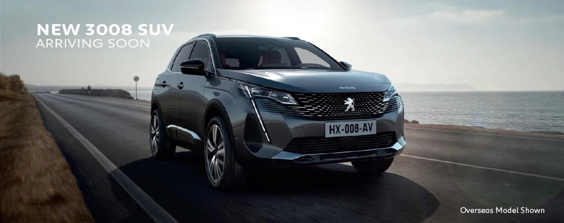 PEUGEOT New 3008 Coming Soon