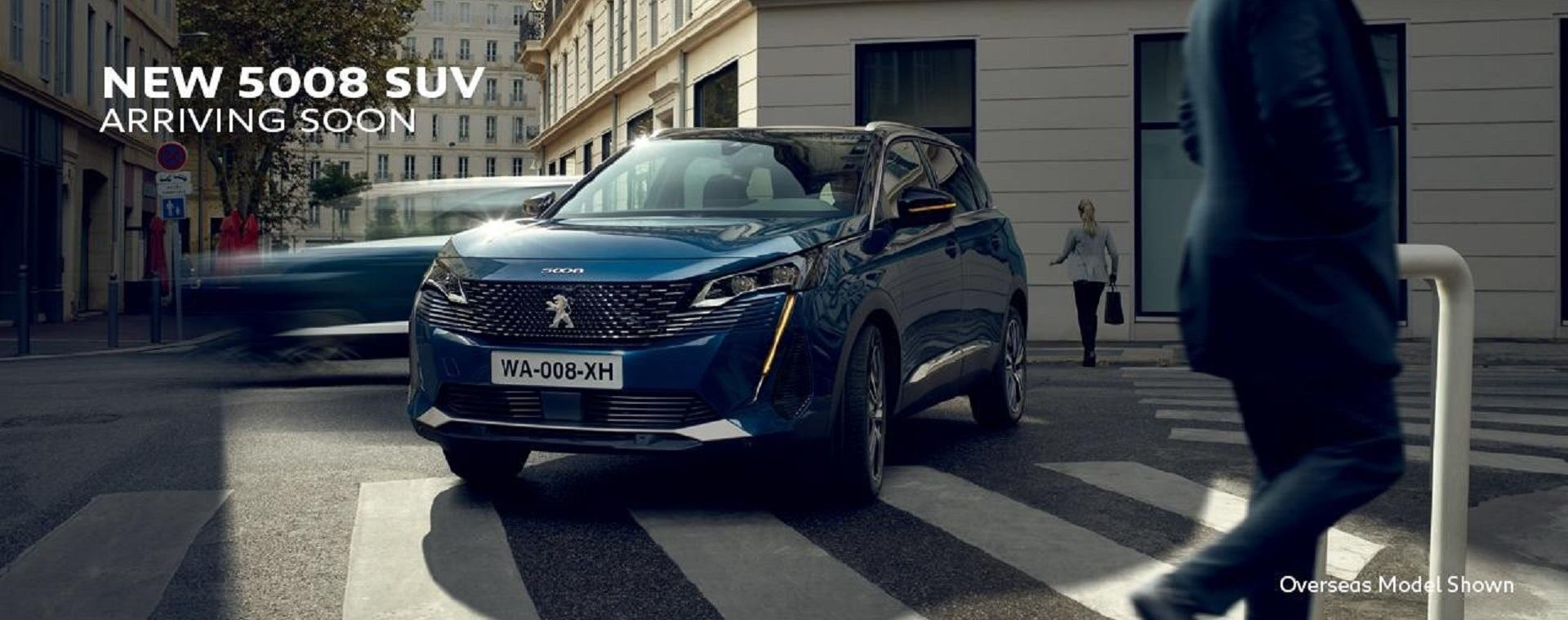 PEUGEOT New 5008 Coming Soon