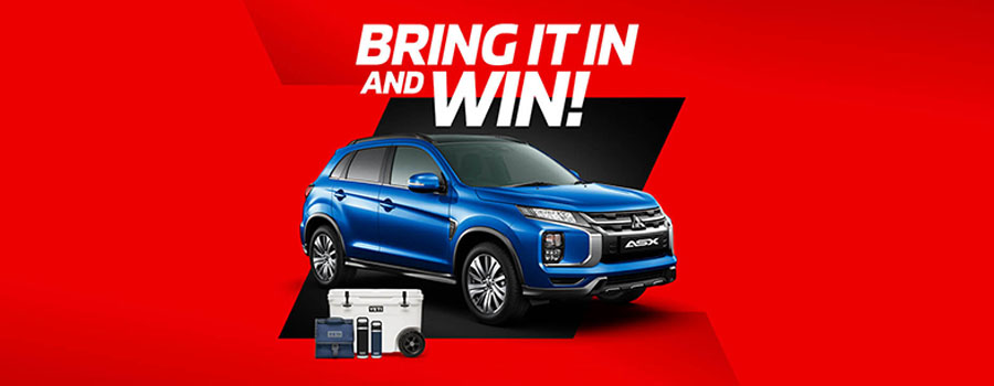 Mitsubishi Bring It In And Win