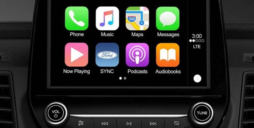 Apple CarPlay TM and Android AutoTM