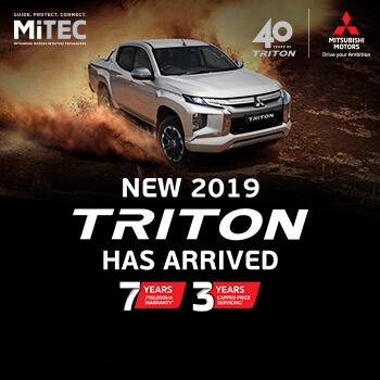 All-New Mitsubishi Triton Small Image