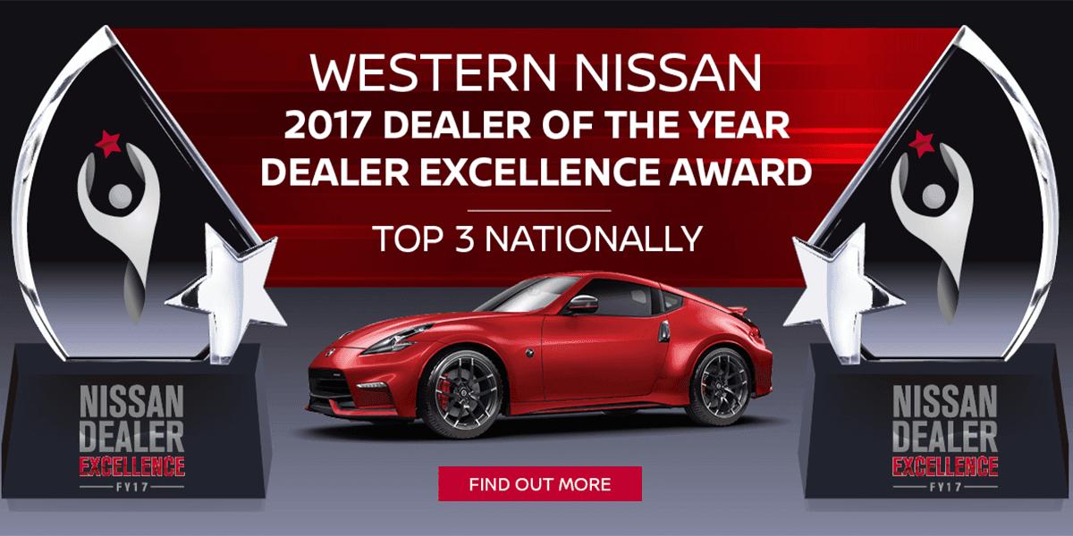 blog large image - Nissan Dealer Excellence Award for 2017