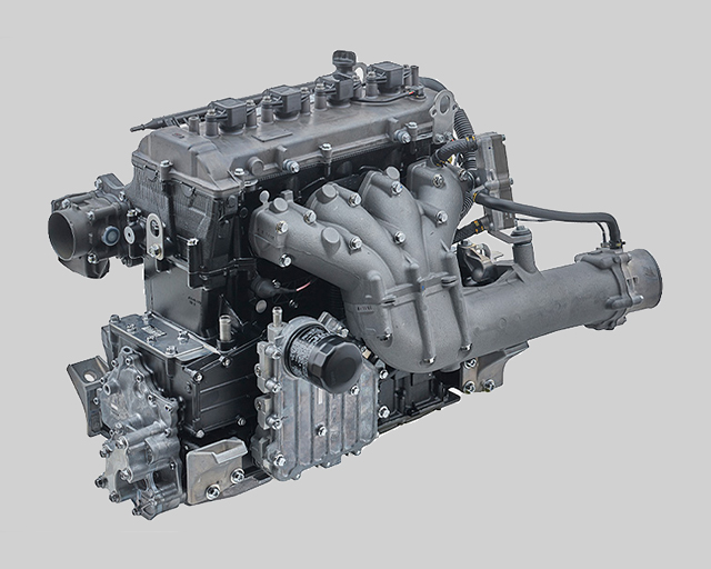 NATURALLY ASPIRATED 1.8 LITRE HIGH OUTPUT ENGINE