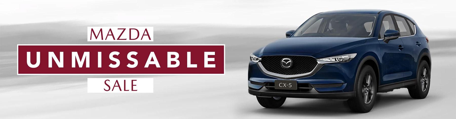 Mazda Unmissable Sale