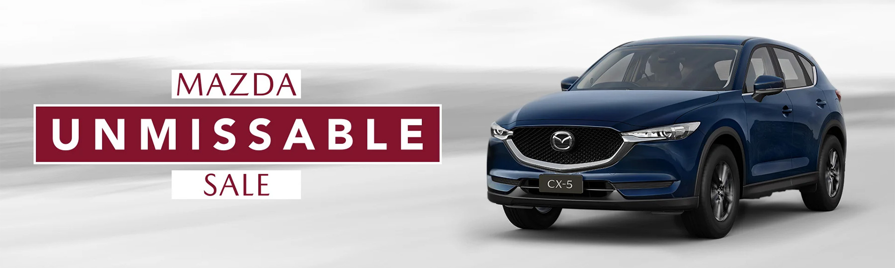 Mazda Unmissable Sale