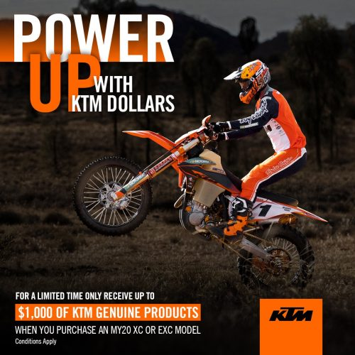KTM Power Up