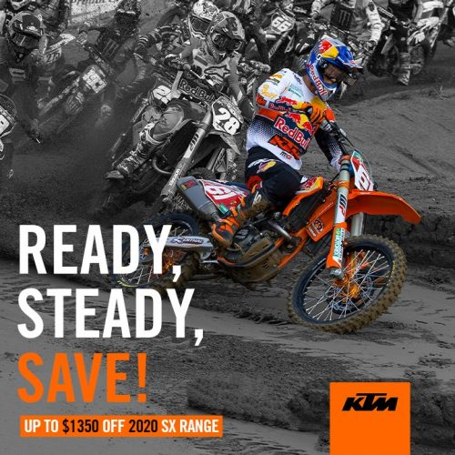 KTM - READY STEADY SAVE