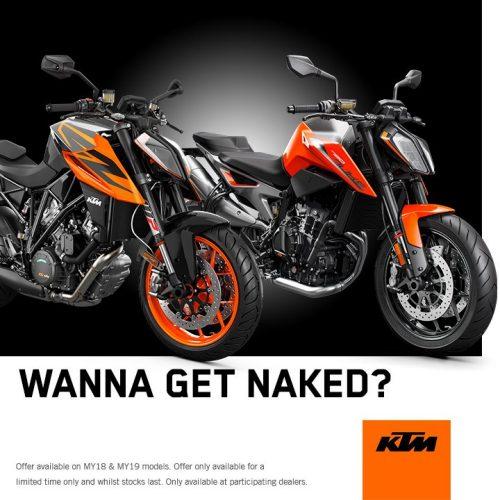 KTM Wanna Get Naked