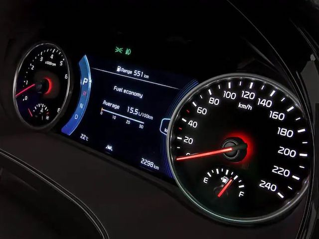 Supervision Instrument Cluster Display