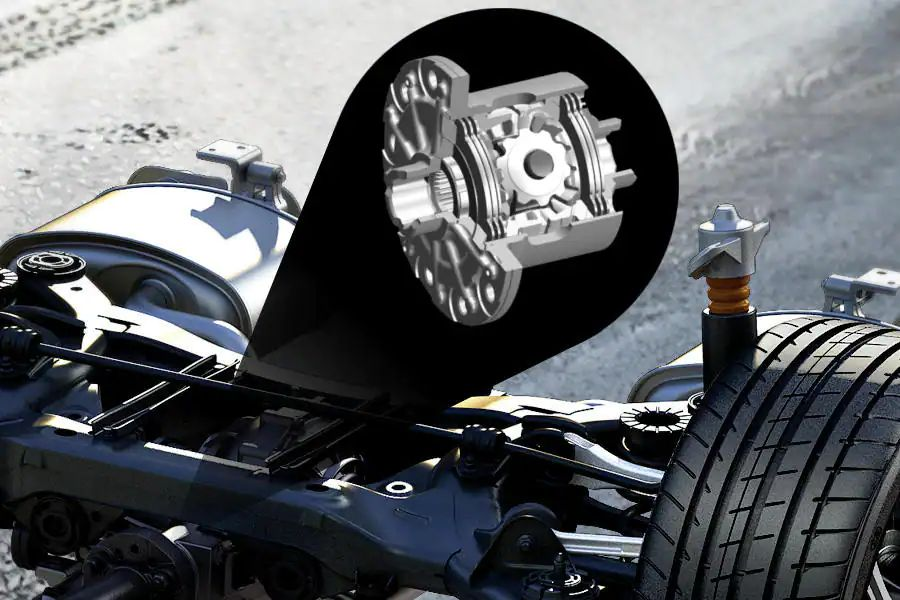 Mechanical Limited Slip Differential