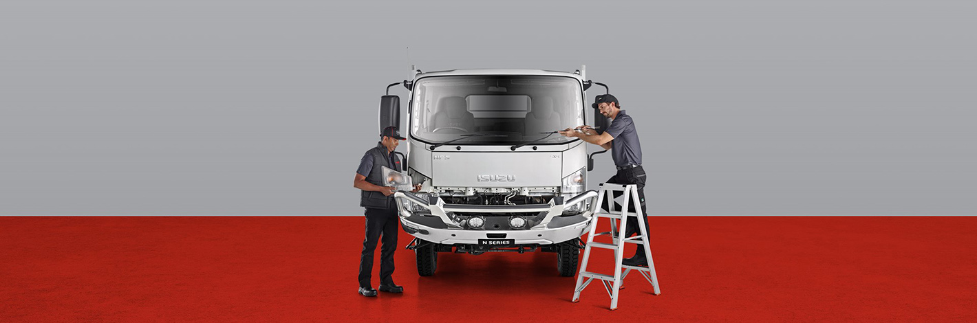 ISUZU SERVICE AGREEMENT
