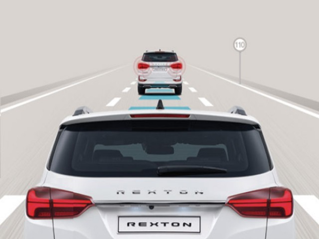 Rexton - Emergency Stop Signal (ESS)