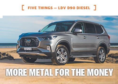 LDV D90 Diesel