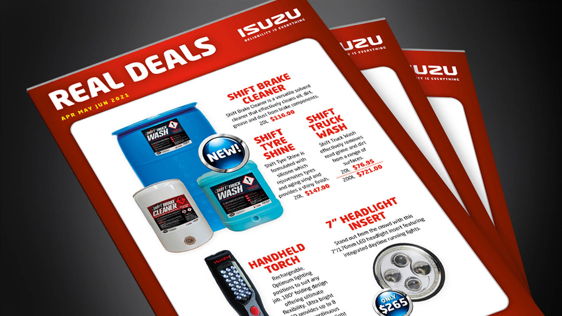Isuzu Truck real deals