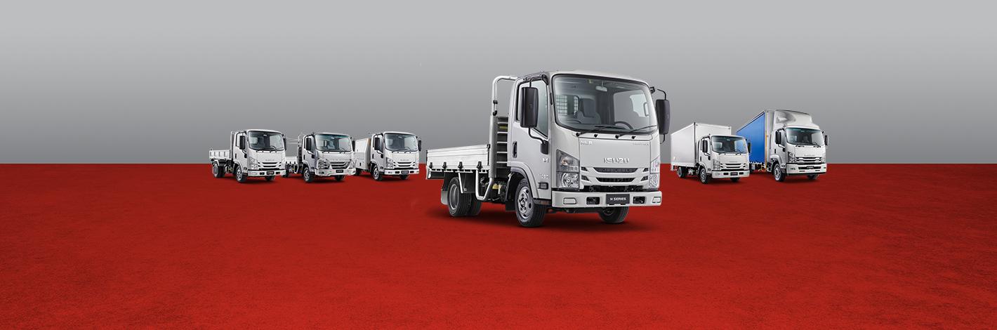 Isuzu Trucks RTW Freightpack Range