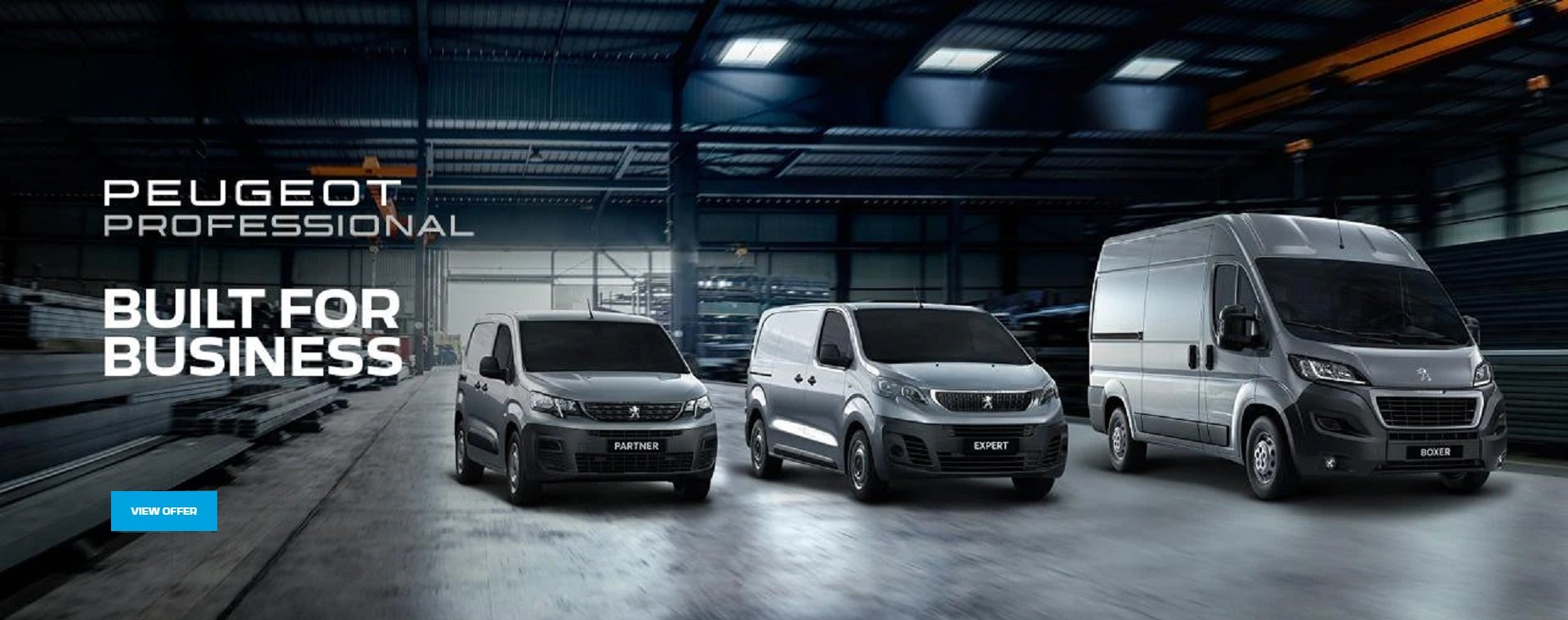PEUGEOT | Built for Business Special offers