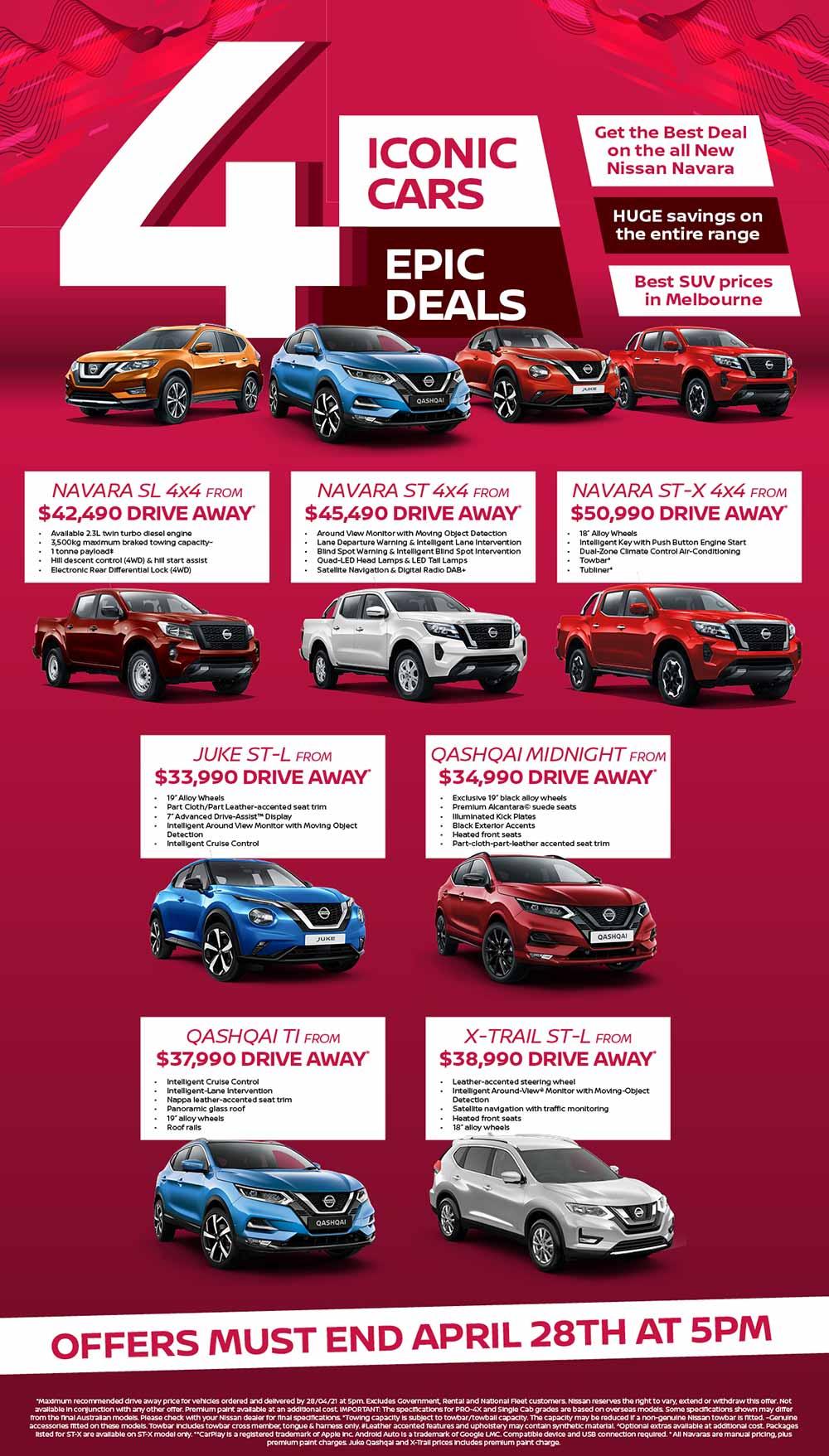 Ringwood Nissan April Specials