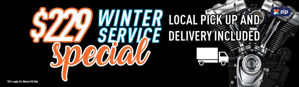 229 Winter Service Special