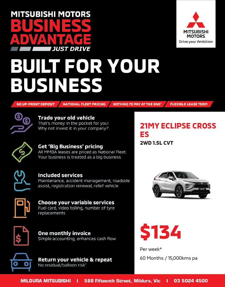 Built For Your Business - 21MY Eclipse Cross ES