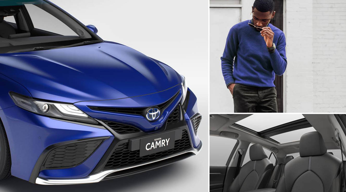 Toyota New-Look Camry Design and Interior