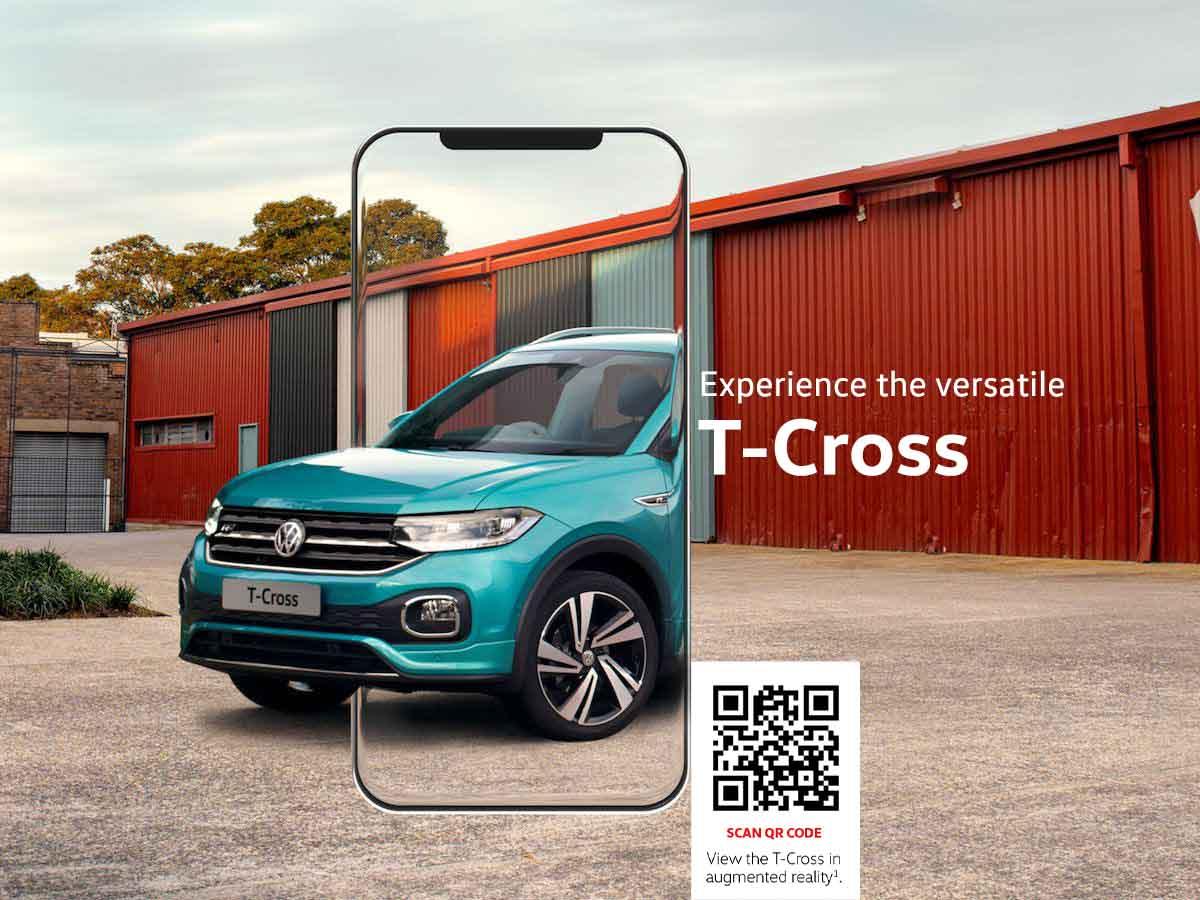 Volkswagen T-Cross QR Code