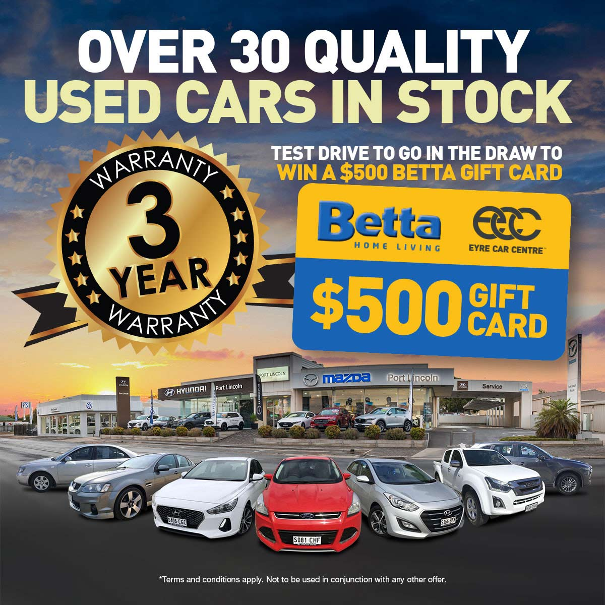 Eyre Car Centre | Quality Used Cars