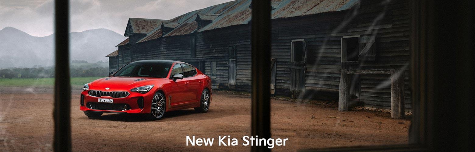 New Kia Stinger