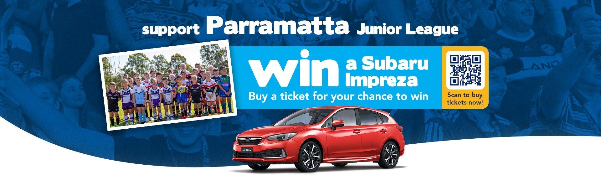 Subaru Parramatta Raffle
