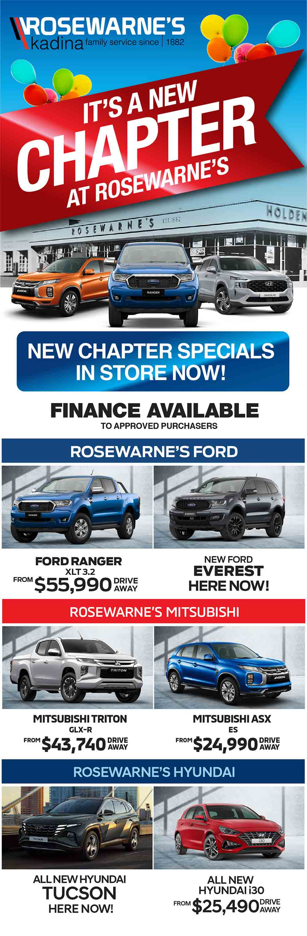Rosewarne's Kadina | It's A New Chapter At Rosewarne's - Special