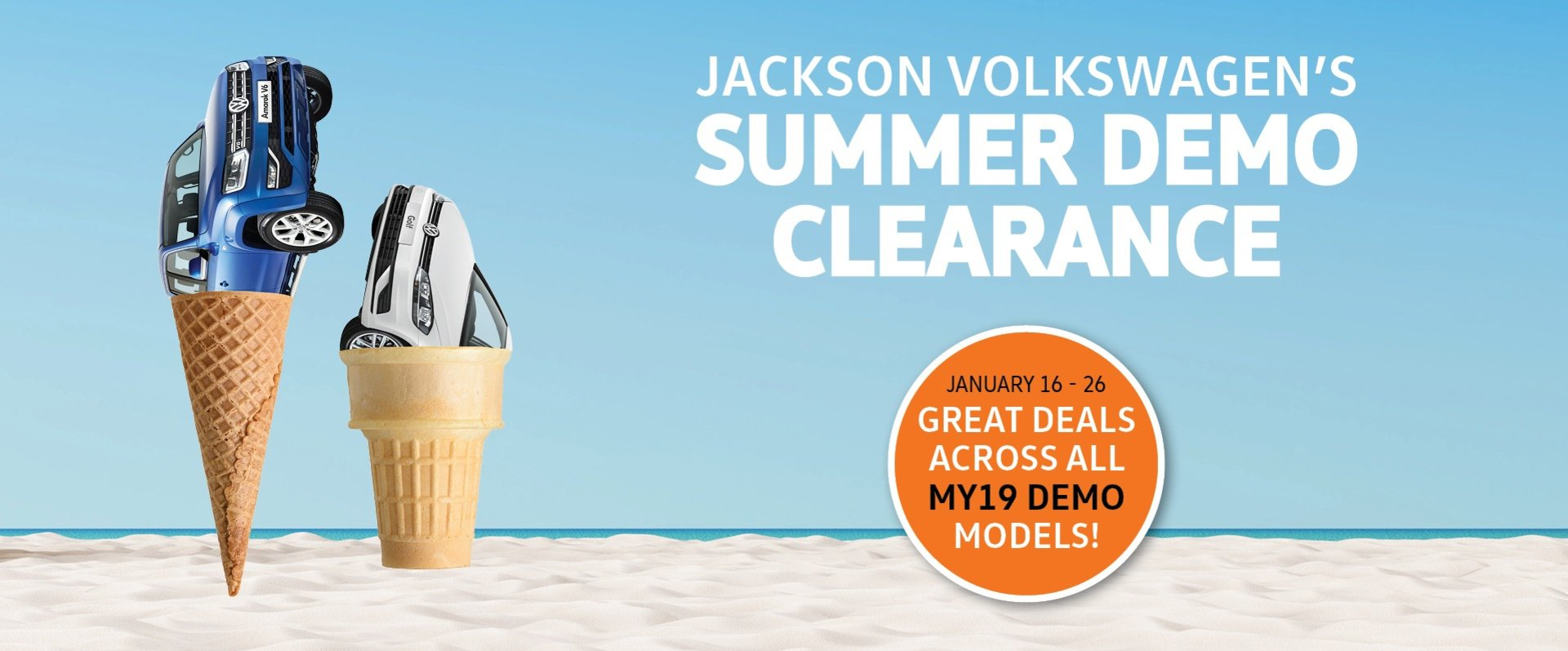 Summer Demo Clearance