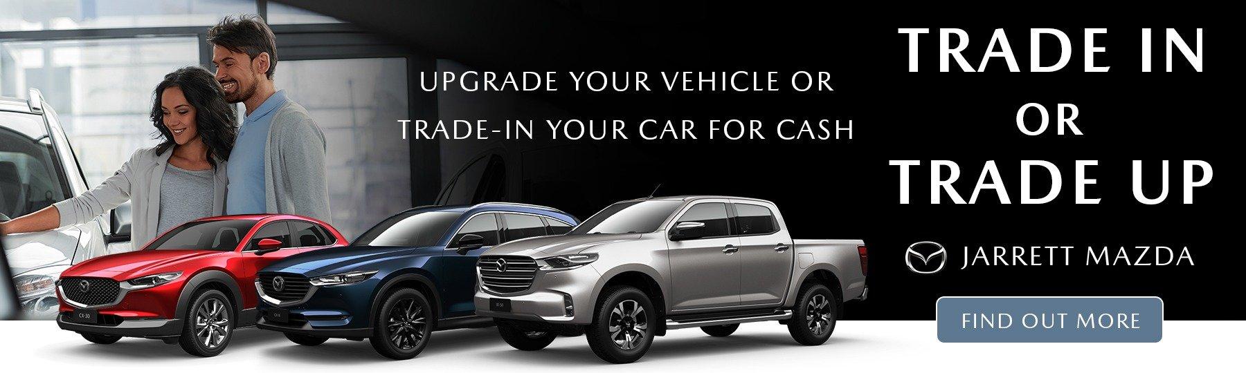 Trade-In Value at Jarrett Mazda