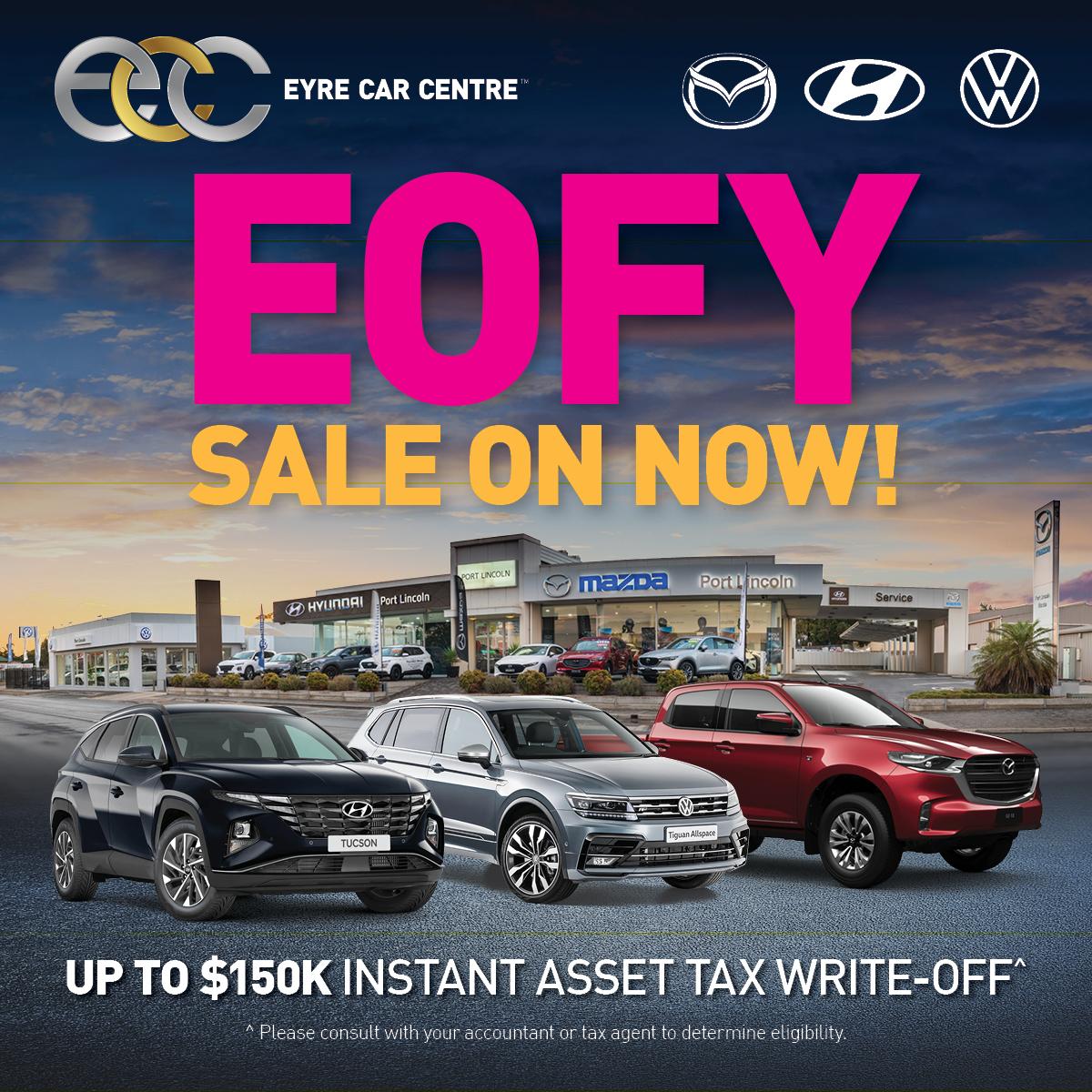 Eyre Car Centre | EOFY Sale!