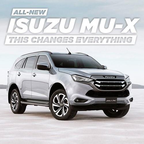 The All-New Isuzu MU-X