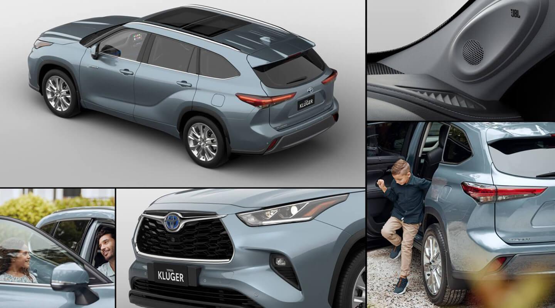 Toyota Kluger Design and Interior 1