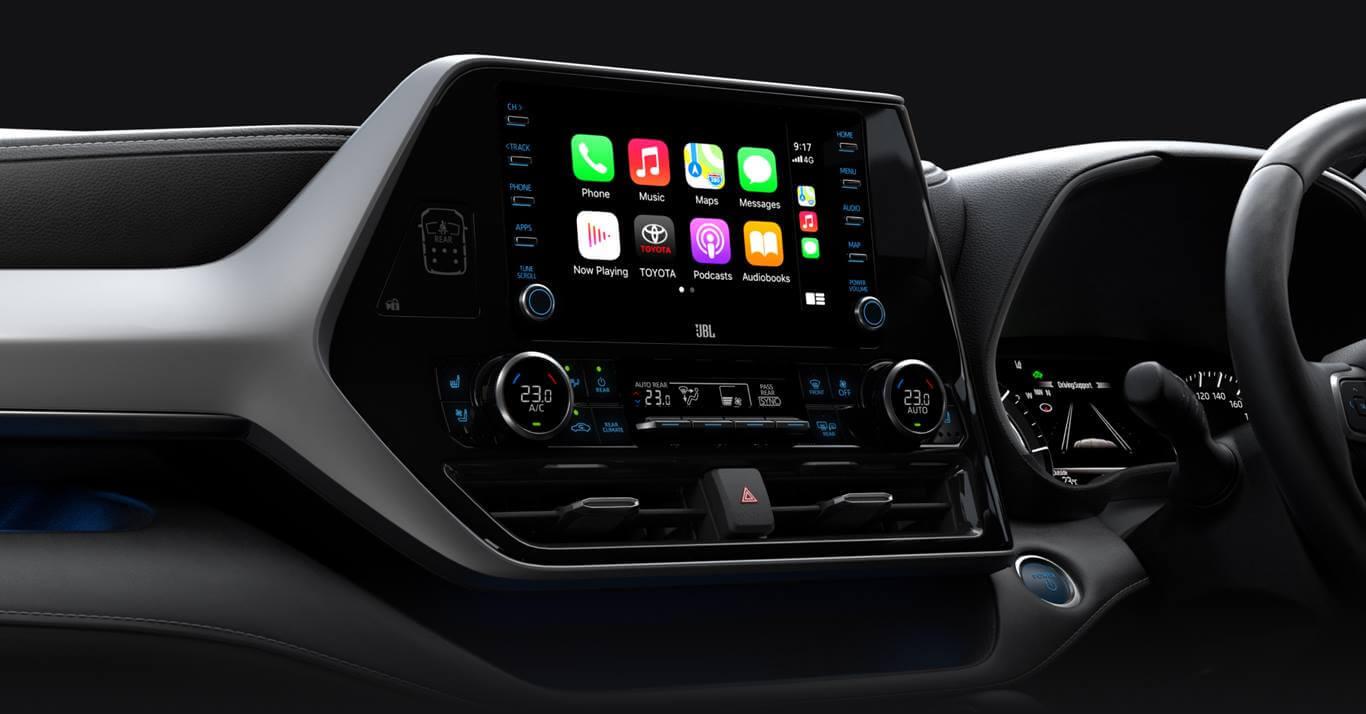 Toyota Kluger Technology 1