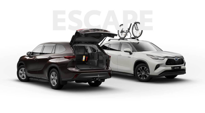 Toyota Kluger Accessories 1