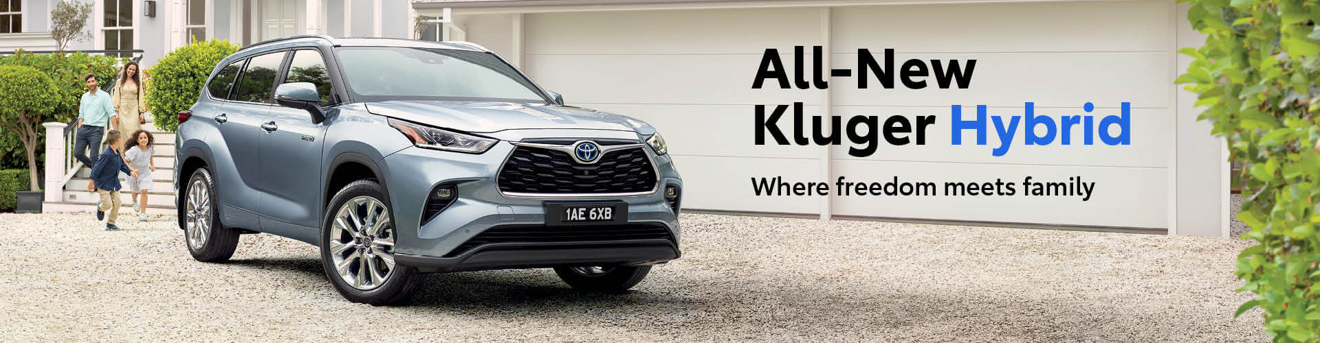 Toyota All-New Kluger Hybrid