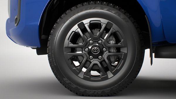 18 Alloy Wheels - Black
