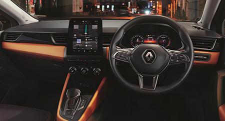 Renault Captur A sleek, intuitive interior