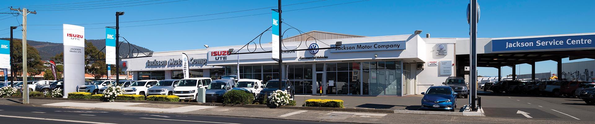 Jackson Motor Company-Derwent Park