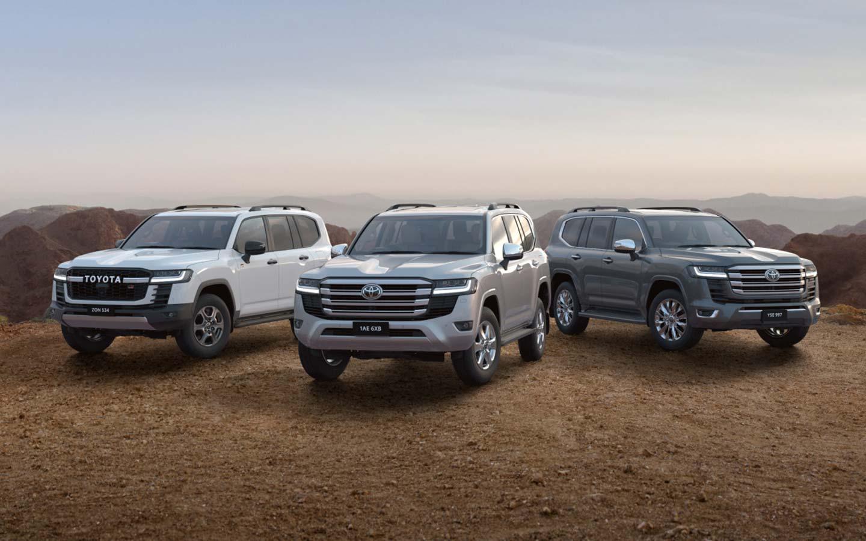 Toyota All-New LandCruiser 300 image