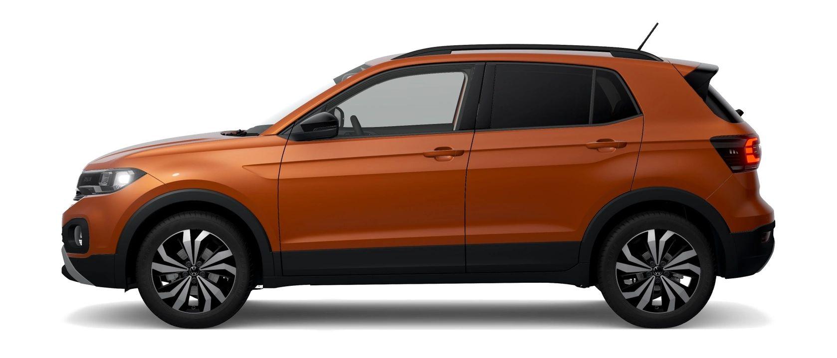 Energetic Orange Metallic