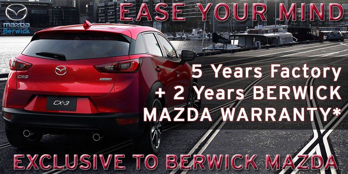 blog large image - Berwick Mazda - 5 + 2 Year Exclusive Warranty