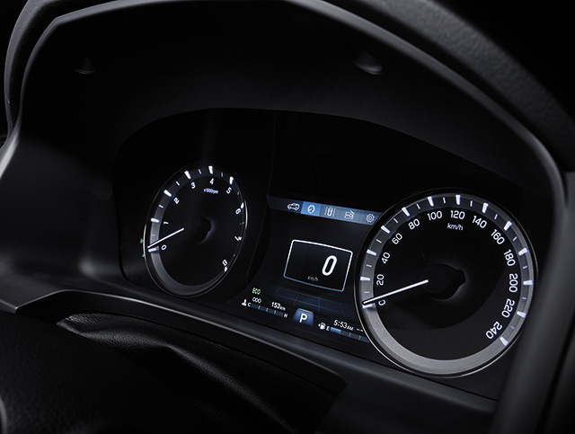 SsangYong - Musso - Instrument Cluster