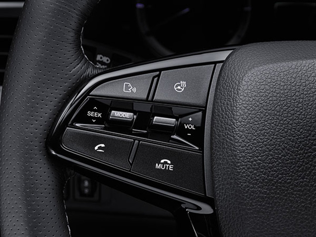 SsangYong - Musso - Steering Wheel Multifunction Controls
