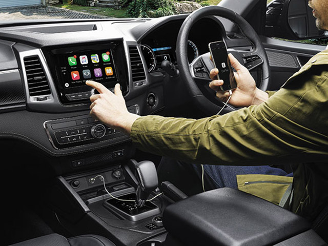 SsangYong - Musso - Apple CarPlay and Android Auto