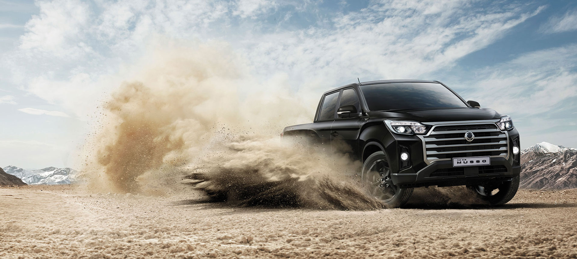 SsangYong - Musso - Drifting In The Dirt
